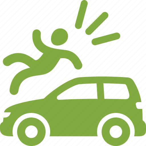accident, auto insurance, bodily injury, car insurance icon