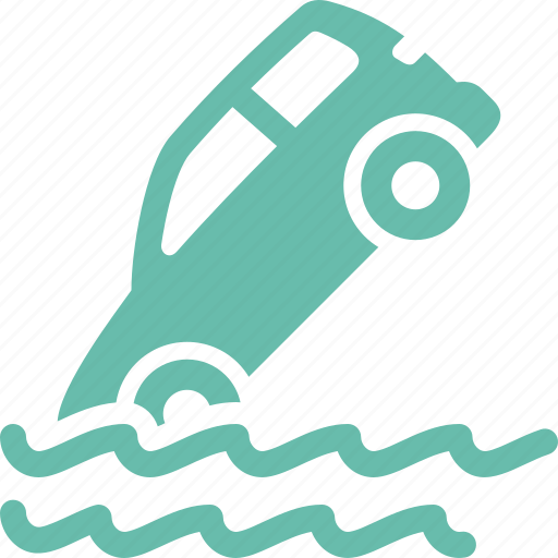 auto insurance, car insurance, flood insurance, vehicle icon