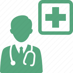 doctor, medical aid, medical coverage icon