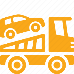 auto insurance, car, roadside assistance, truck icon