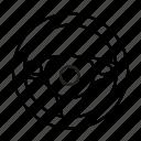car, rudder, steering, wheel icon