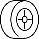 pressure, tire, car, wheel icon