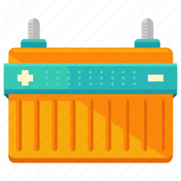 auto, battery, car, maintenance, service, vehicle icon