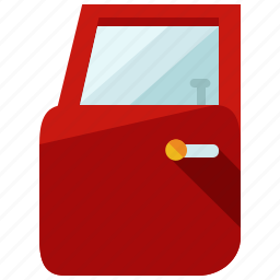 auto, car, door, service, transportation, vehicle icon