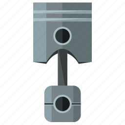 auto, car, maintenance, piston, service, vehicle icon