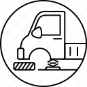 auto mechanic, broken truck, change tyre, tire repair, truck, tyre icon