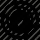 autometer, meter, speed meter, speedometer, tachometer icon