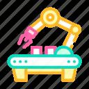 robotic, factory, arm, automation, engineer, iron