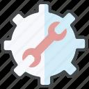 automation, optimization, seo, settings, test tools, testing management icon
