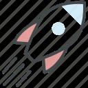 deploy, deployment, kick off, launch website, rocket, startup icon