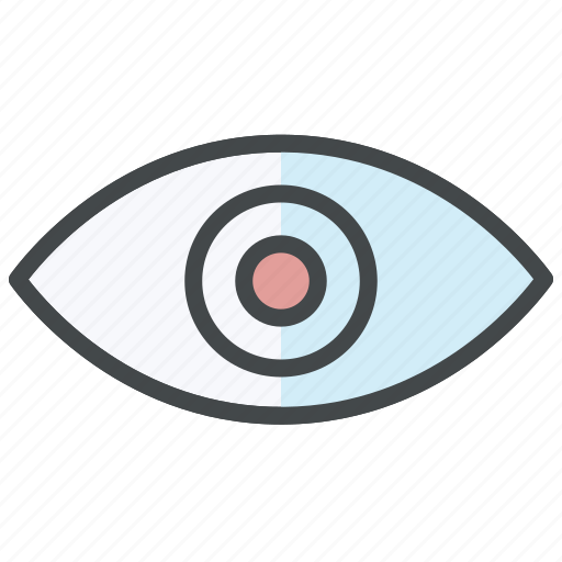 check, eye, review, show, view, watch icon