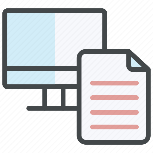 analysis, find, monitoring, reporting, review, search, testing icon