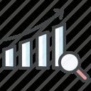 analytics, analyze test results, dashboard, growth, report, statistics icon