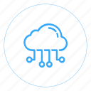 cloud, cloud computing, cloud integration, cloud platform, cloud storage icon