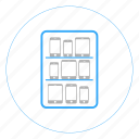 device, device lab, device storage, lab, mobile storage, storage icon