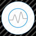 beats, heart beat, logs, music, network, statistics, tracker icon