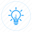 aim, idea, insights, smart, think, thought, visualization icon