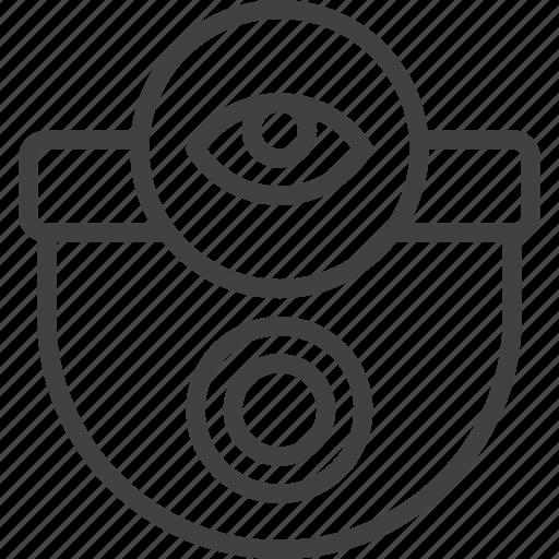 camera, security, surveillance icon