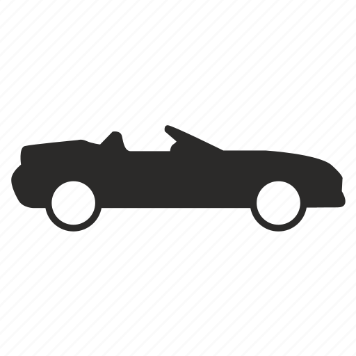 auto, automobile, body, cabrio, car icon
