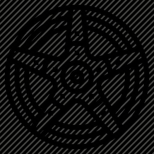 alloy, part, rim, wheel icon