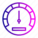 car, gauge, indicator, odometer, speed, speedometer, tool icon