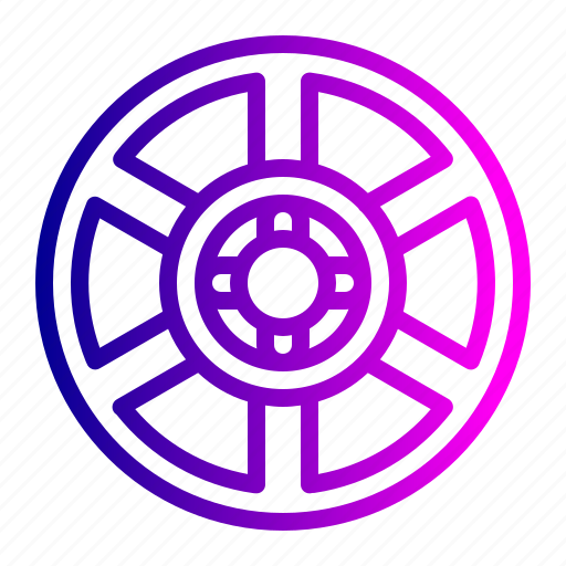 automative, car, race, rims, tire, tool, wheel icon