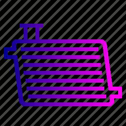 car, cooling, engine, machine, motor, radiator, service icon