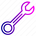 repair, service, settings, tools, wrench icon