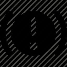 alert, engine icon