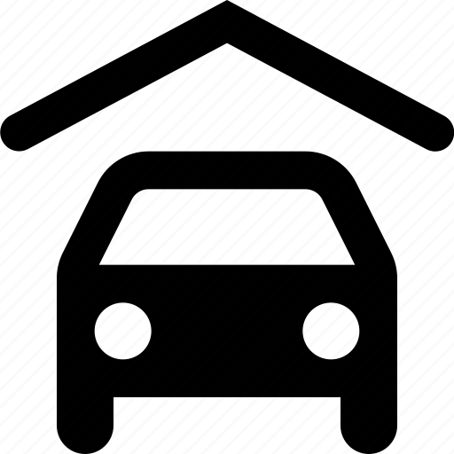 car, shelter icon