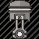 piston, crankshaft, engine, combustion, mechanical