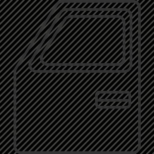 Door, car, parts, handle, automobile icon - Download on Iconfinder
