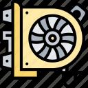 ventilator, cooling, air, conditioner, car