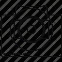camera, car, dashcam, video icon