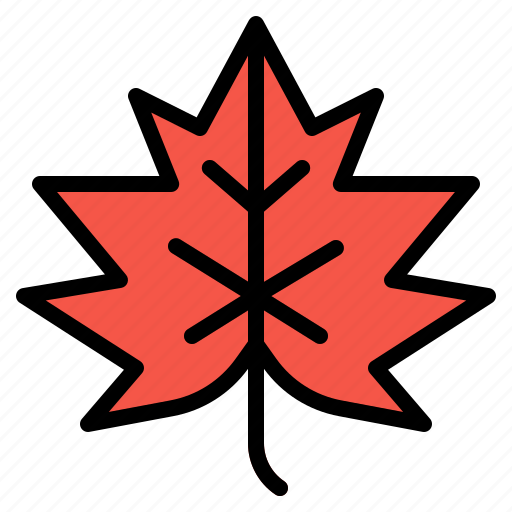 Autumn, fall, leaf, maple, plant icon - Download on Iconfinder