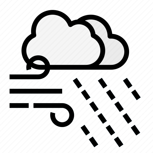 Cloud, forecast, rain, rainy, weather icon - Download on Iconfinder