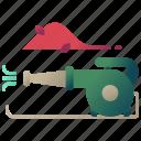 autumn, blower, blower machine, machine icon