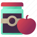 apple, autumn, jam, jelly icon