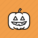 autumn, fruit, halloween, lantern, pumpkin, thanksgiving, vegetable icon