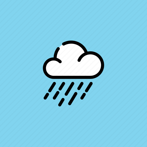 autumn, cloud, overcast, rain, rainfall, rainy, weather icon