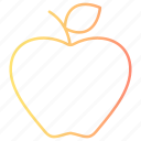 appel, fruit, healthy, produce, spring icon