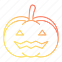 autumn, celebration, face, festival, halloween, pumpkin, scary icon