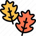 autumn, fall, leaves, season, weather icon