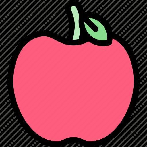 apple, autumn, fall, nature, season, weather icon