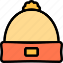 autumn, beanie, fall, nature, season, weather icon