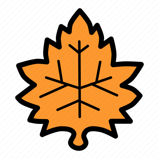 autumn, fall, garden, leaf, maple, nature, season icon