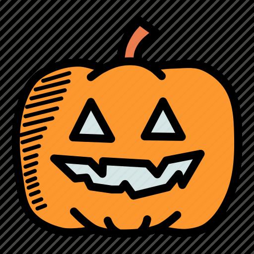 Autumn, fruit, halloween, lantern, pumpkin, thanksgiving, vegetable icon - Download on Iconfinder