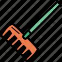 agriculture, farming, garden, gardening, rake, tool icon