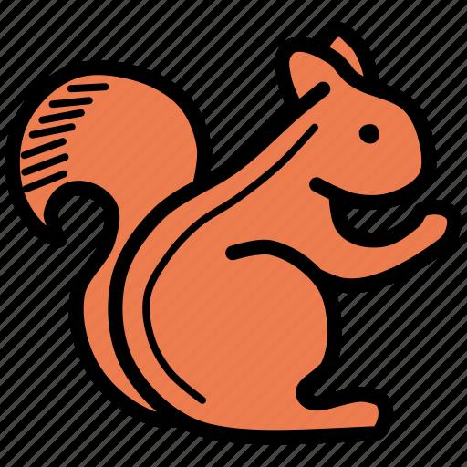 Animal, autumn, squirrel icon - Download on Iconfinder