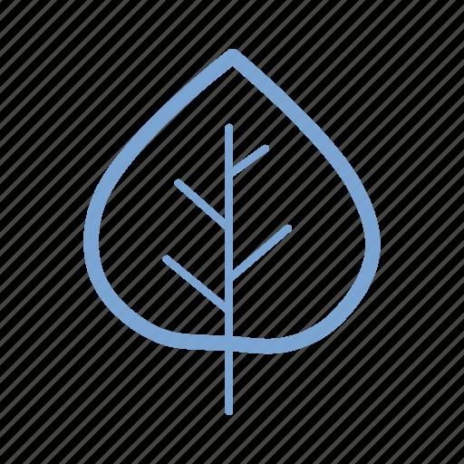 aspen, autumn, fall, green, leaf, nature, season icon